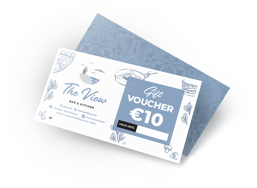 The View Gift Voucher